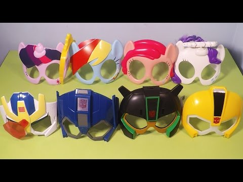 2015 Transformers My Little Pony McDonald's Happy Meal Kids Toys Collection Video
