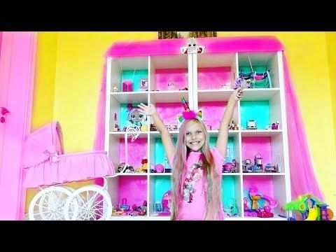 ОГРОМНЫЙ ДОМ для кукол ЛОЛ !! LOL Surprise  Dollhouse. Видео для детей. Lol Under Wraps. LOL Eye Spy