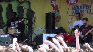 letlive - 27 Club - Live at Warped Tour Chicago 2013