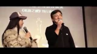Surprise for 成龙 Jackie Chan - By Bleeding Steel Team (Oscars Governor Award)
