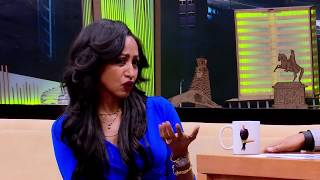 Seifu On EBS TV Show Interview With Makeup Aritist Marzel