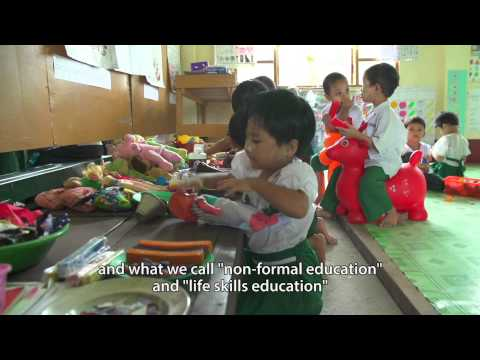 Myanmar - Greater access to a basic education