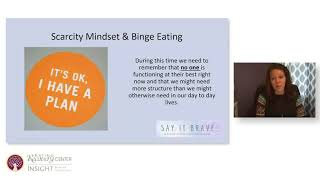 """Say It Brave - Battling Eating Disorders in a COVID-19 World"""