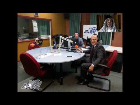 Mostafa Khalil interviews an old friend of the Kurds - Hama Arab on radio 2000fm
