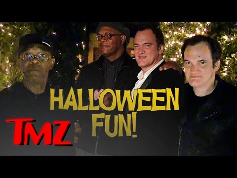 Samuel L. Jackson. Quentin Tarantino and Halloween questions!