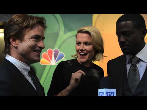 Durmot Mulroney, Lance Gross and Rachael Taylor - Crisis - NBC Upfronts 2013