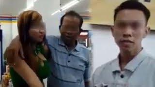 Video Klarifikasi Wanita Dicium Pria Beristri di Mini Market, Viral hingga Permalukan Keluarga