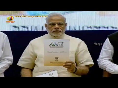 PM Modi launches 3 Mega Schemes | Venkaiah Naidu | Housing For All | Smart Cities | AMRUT