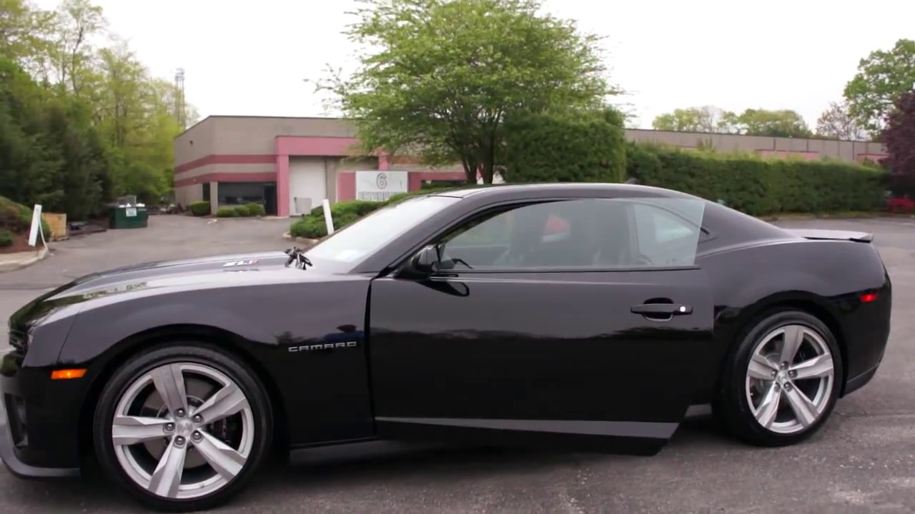 2012 chevrolet camaro zl1 for sale loaded 6 speed manual 580hp supercharged black black youtube. Black Bedroom Furniture Sets. Home Design Ideas
