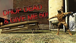 Drop Dead & Give Me 50! | Insurgency funny moments with friends