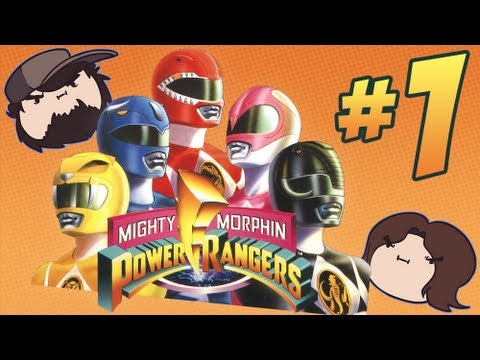 Mighty Morphin Power Rangers: Morphing Time - PART 1 - Game Grumps