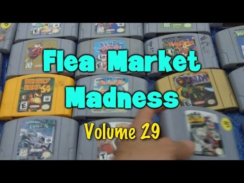 Flea Market Madness Vol. 29 - Pat the NES Punk