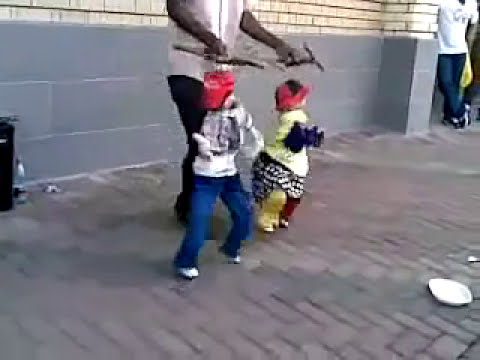 Marionetas bailando!
