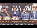Anthony Joshua vs Alexander Povetkin FINAL PRESS CONFERENCE