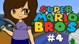 Minecraft: Super Mario Bros: Part 4 - DIDN'T SEE ANYTHING! (Custom Parkour Map)