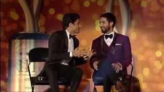 Download video IIFA Awards 2014: Shahid Kapoor plays the role of Farhan Akhtar's teacher