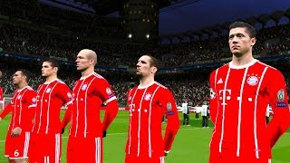 Celtic vs Bayern Munich UCL 31 October 2017 Gameplay