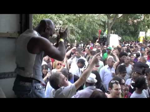 DJ Disciple @ KCC Notting Hill Carnival 2010, London UK Part 7