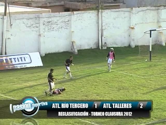 Atletico Rio Tercero 1 Atletico Talleres 2, Reclasificacion Clausura 2012