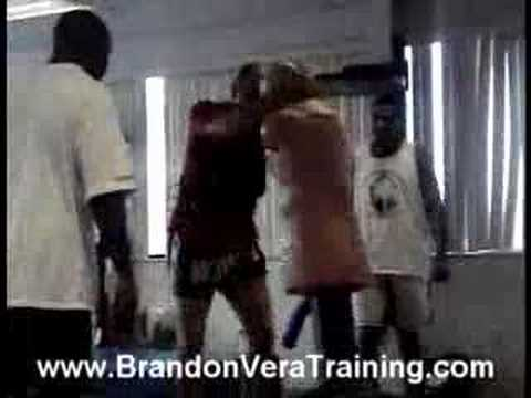 Brandon Vera Training For UFC 65 Image 1
