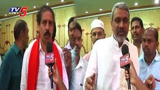 Chalasani Srinivas And CPI Ramakrishna Face To Face Over Special Status To AP