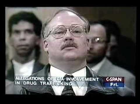 On November 15, 1996, there was a town meeting in Los Angeles on allegations of CIA involvement in drug trafficking. Former Los Angeles Police Narcotics Dete...