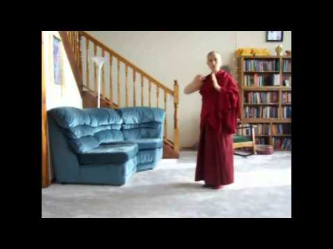 11-08-06 How to Make Prostrations: Demonstration