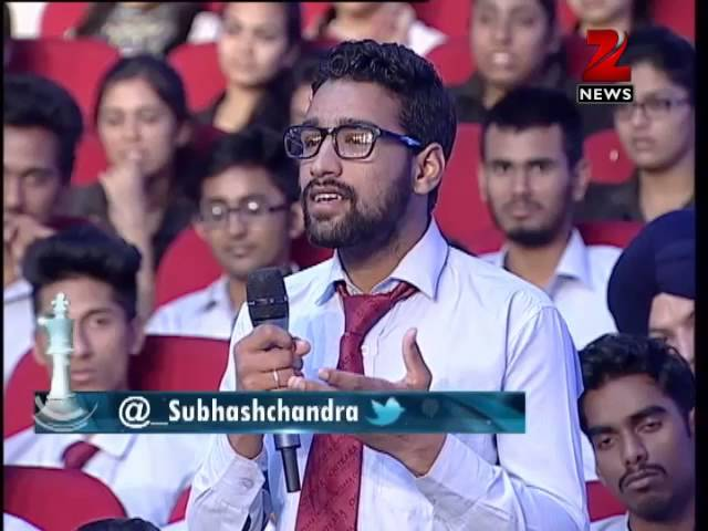 Dr Subhash Chandra Show: Aspiring for more than what you have!