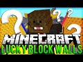 Minecraft: Lucky Block WALLS PVP! Modded Minigame #2