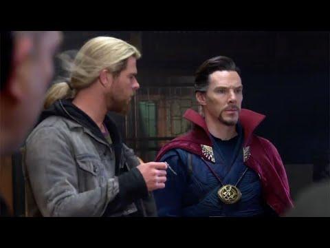 Thor Ragnarok Doctor Strange Teamup CONFIRMED