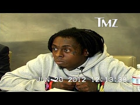 Lil Wayne Not Giving AF At His Deposition
