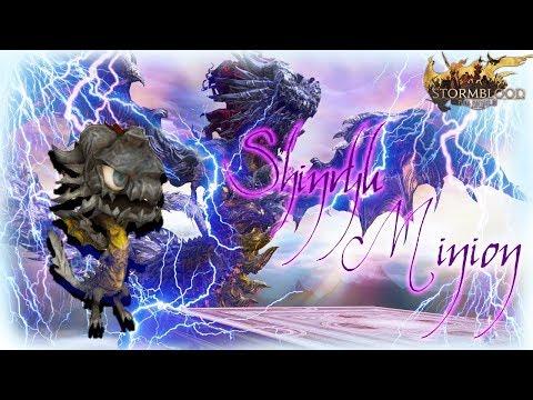 ffxiv wind up shinryu minion www