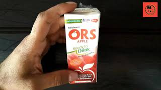 ORS Liquid Apple Flavour  Oral Rehydration Salt Full Review (Online Medicine Detail)