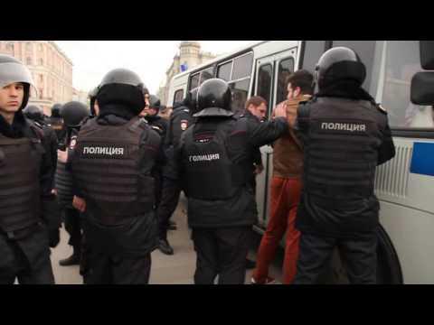 Задержания 26 марта 2017. ВЕЧЕР. Он вам не димон, вот вам ОМОН. ч.2