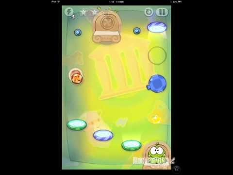Cut the Rope Time Travel 5-15 Ancient Greece Walkthrough