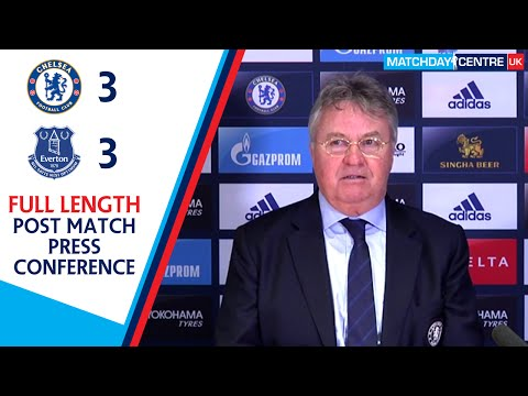 Chelsea 3-3 Everton : Guus Hiddink Press Conference