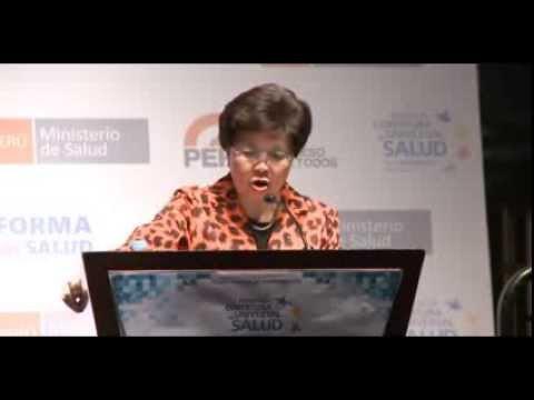 Conferencia Magistral de la Dra. Margaret Chan, Directora General de la OMS