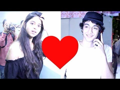 Is SRK's Daughter Suhana Khan DATING Ahaan Panday? thumbnail