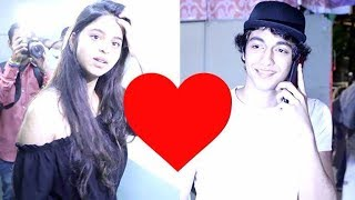 Is SRK's Daughter Suhana Khan DATING Ahaan Panday?