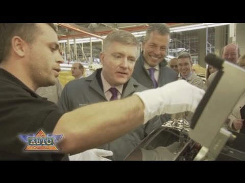 UK Business Minister Prisk Visits Rolls-Royce Motor Cars