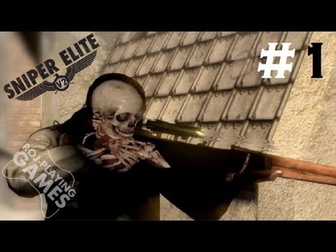 Sniper Elite V2 #1 - Boom Headshot Orgazmus Rex (Roj-Playing Games!) 18+