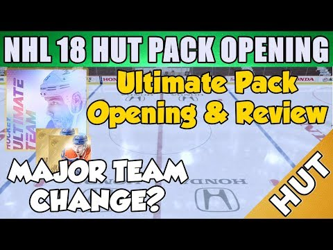Ultimate Pack Opening And Review! - NHL 18 HUT - Hockey Ultimate Team