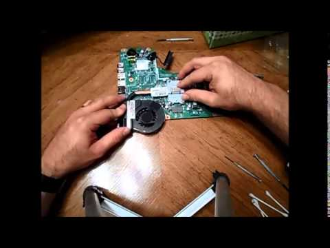 Replacing cooling fan of HP Pavilion g6-2235us - Part 2