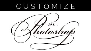 How to Customize Fonts in Photoshop