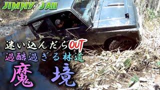 クロカンベイビー&すごいジムニー現る!魔境チャレンジ(M.K.C)   ジムニー遊び北海道札幌