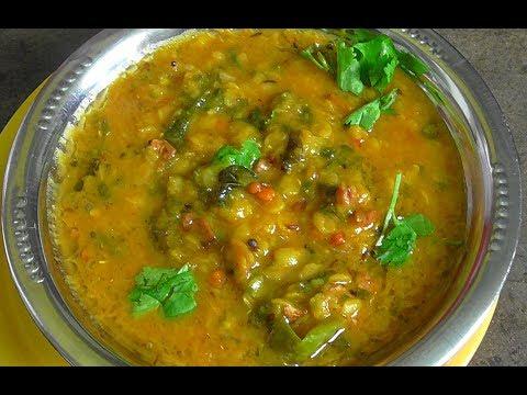 bachali kura recipe/ how to make malbar spinach dal recipe