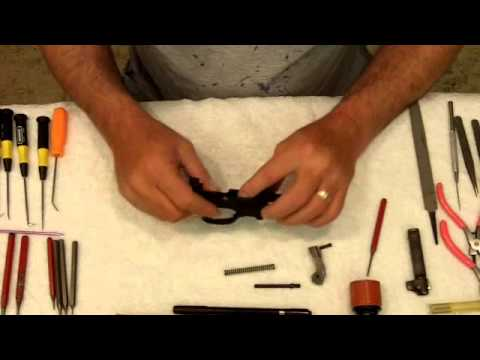 Complete Disassembly of the M1 Carbine Trigger Group
