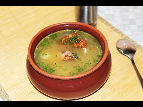 Как сварить гороховый суп с копченостями пошаговый рецепт