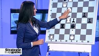 "Editia 2 - Emisiunea de sah ""Strategie in alb si negru"" - cu Delia Duca & Amedeo Ene"