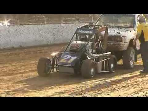 Highlights from the NSW Speedcar Championship 7-3-09